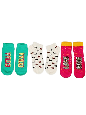 Gossip Girl Pack of 3 Socks