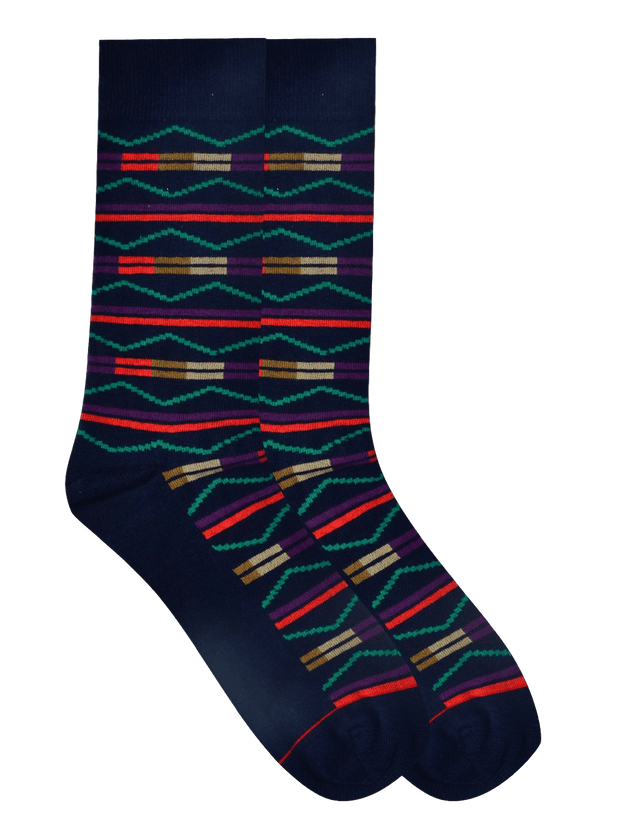 Terribly Tribal Socks