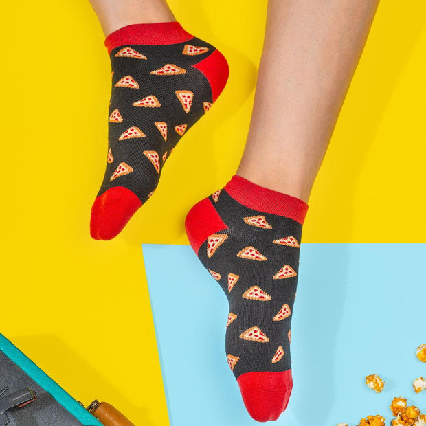 Pizza is Bae Socks