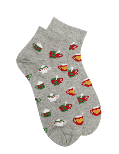 Christmas Tea Party Socks