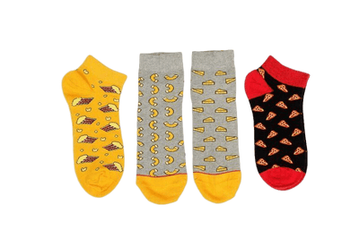 Funky Junkie Pack of 3 Socks