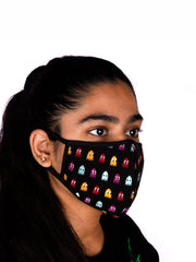 Pacman Knitted Mask