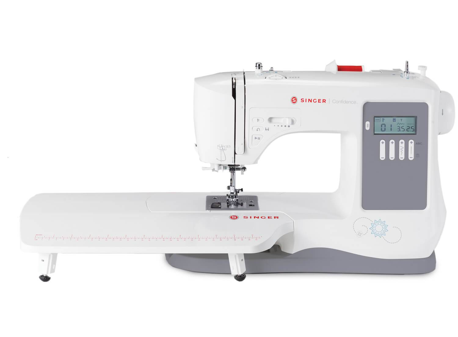 Singer Confidence 7640 Sewing Machine with Free Extension table