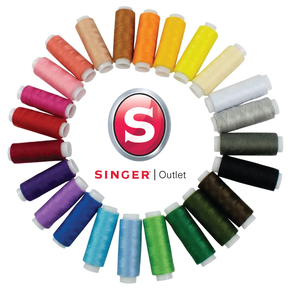 Threads Gift Set - 24 x Coloured Reels - Singer Outlet Exclusive