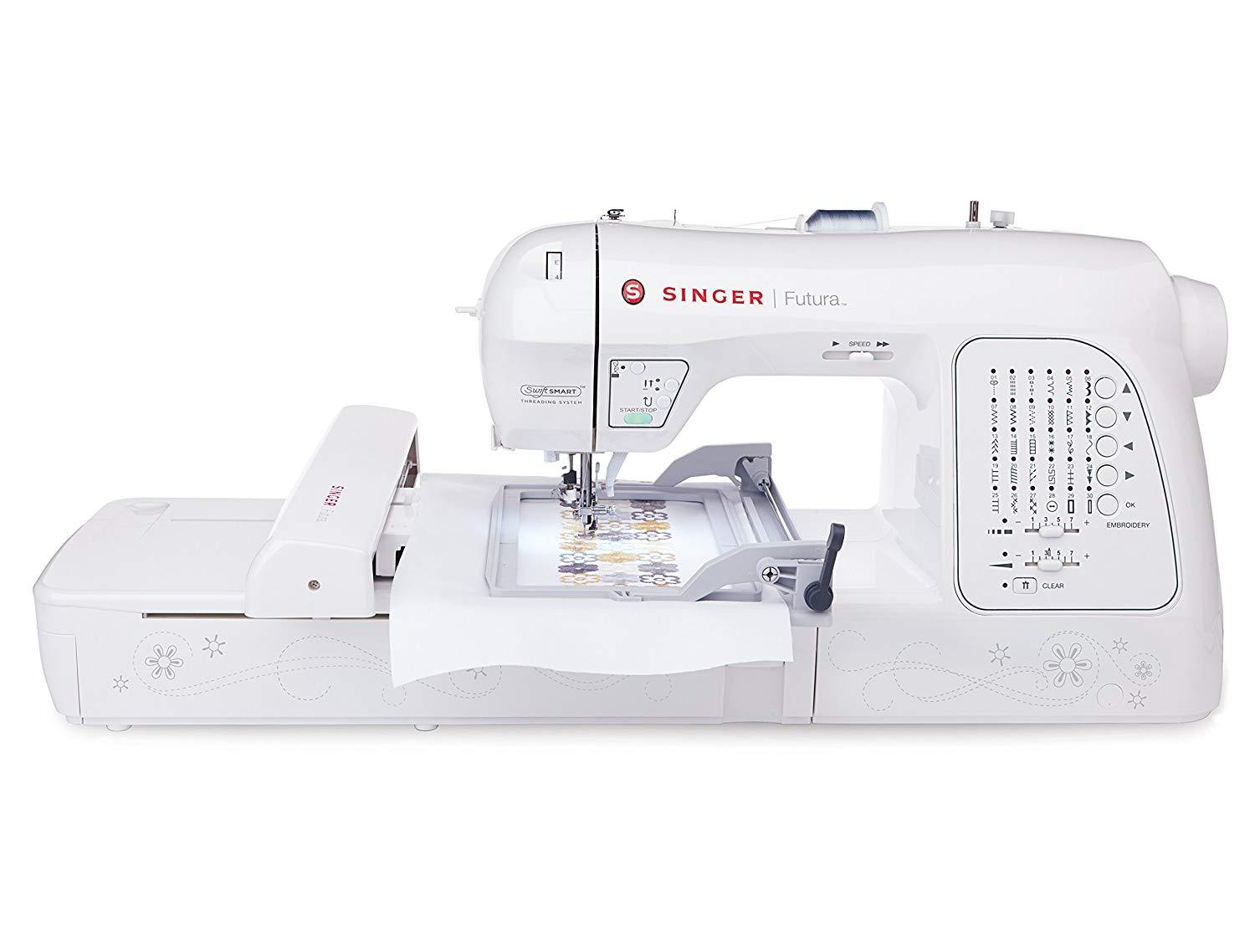 Singer Futura XL580 - Sewing & Embroidery Machine with Free Software - Good as New