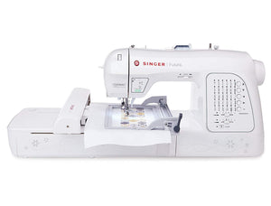 Singer Futura XL420 - Sewing & Embroidery Machine with Endless hoop