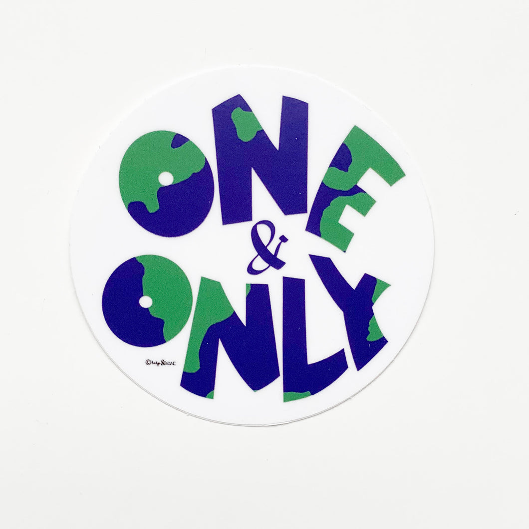 One & Only Sticker