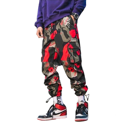 Camo pants Red