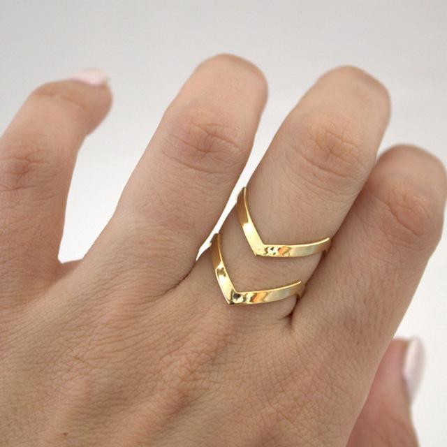 Royal Chevron Ring