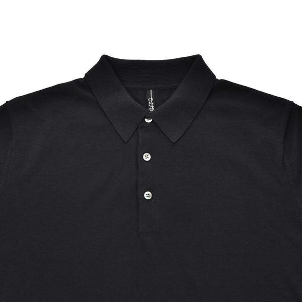 terroir:Knit Polo Navy