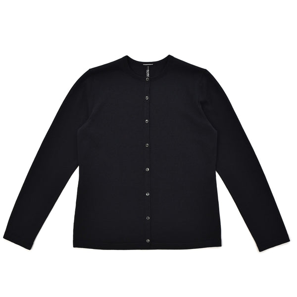 terroir:Women's Crewneck Cardigan Black
