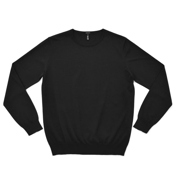 terroir:Crewneck Pullover Black