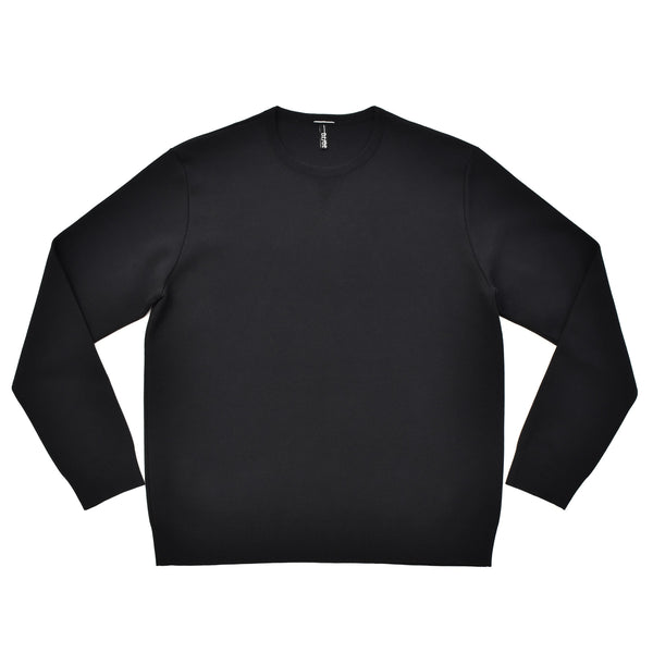 arteco:Smooth Crewneck Pullover Black