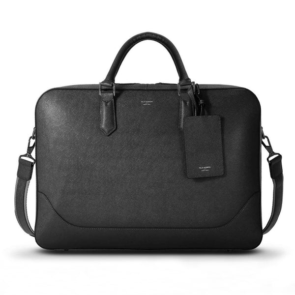 Capitano Brief Bag Black × Matte Black