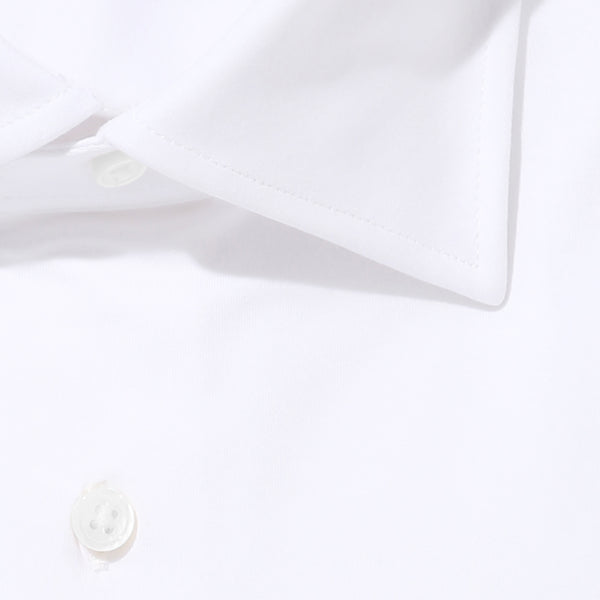 【干場リクエスト】<br> Knit Dress Shirts<br> FIDELIO<br> SUVIN PLATINUM Plain stitches