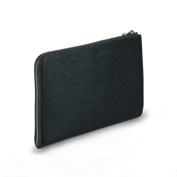 Capitano Clutch Bag Navy ( S )