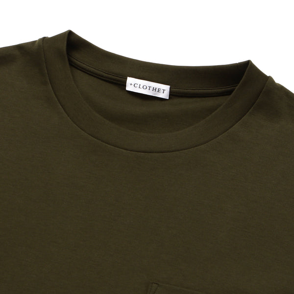 【MMW限定】<br>Pocket T-shirts Color: Khaki