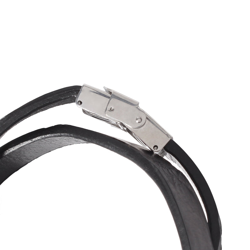 Crocodile  Bracelet<br>Black