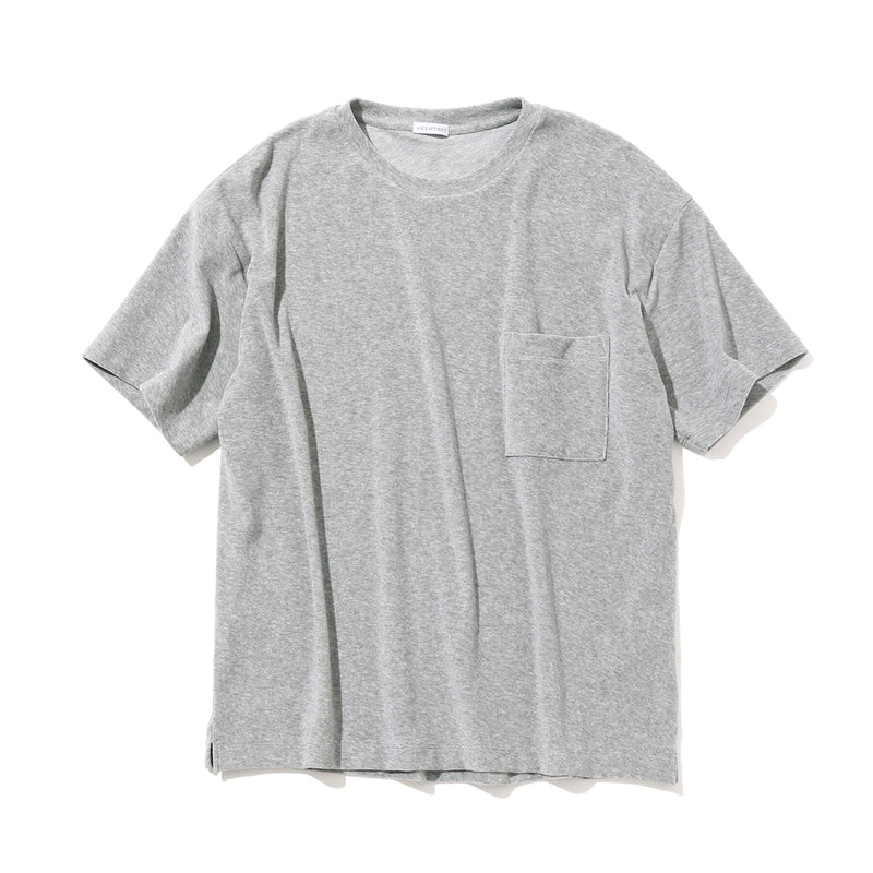 Suvin Platinum Micro Pile Big T-Shirt<br>Color: Gray