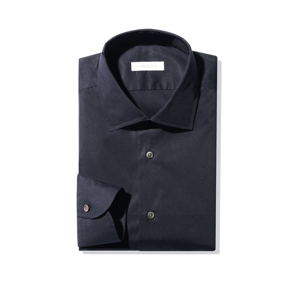 MMW限定<br>Black Dress Shirts<br>3Functions Broadcloth