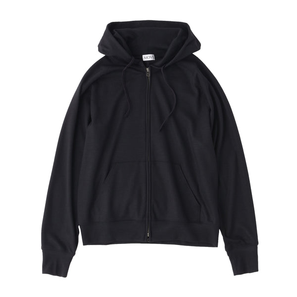 TPS_Middle Smooth Hoodie<br>Col.Black