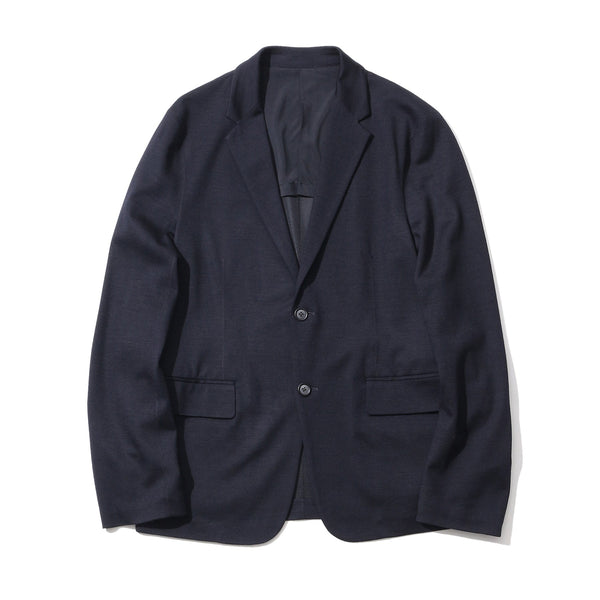 TPS_Wool Mobile Jacket <br>Col. Navy