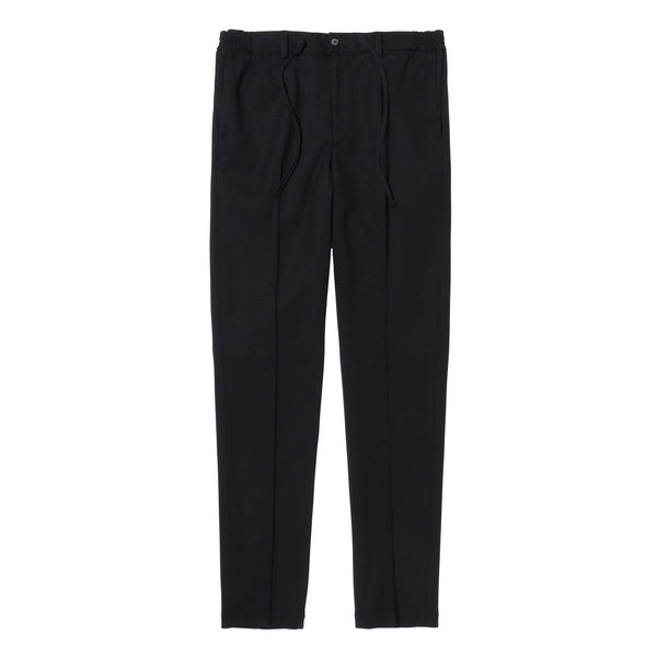 Middle Smooth Pants<br>Col. Black