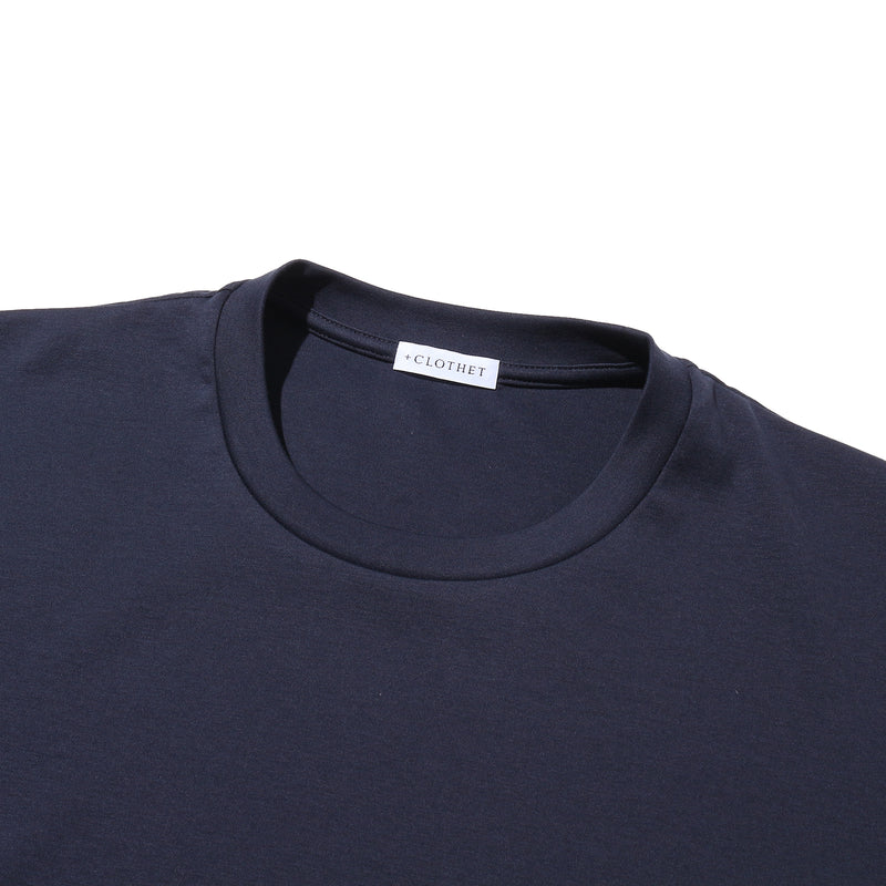 SUVIN PLATINUM LONG SLEEVE T-SHIRTS<br>Color: Navy