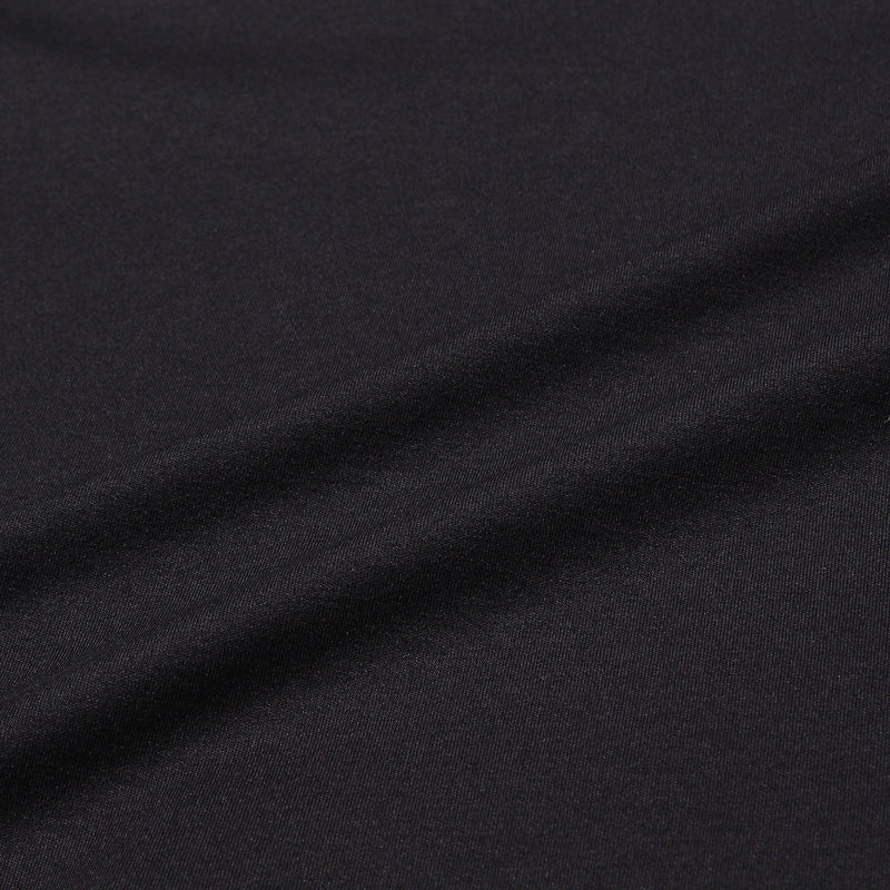SUVIN PLATINUM LONG SLEEVE T-SHIRTS<br>Color: Black
