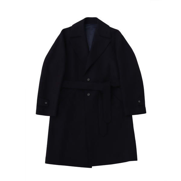 TPS_Single Belted Coat<br>Col.Navy