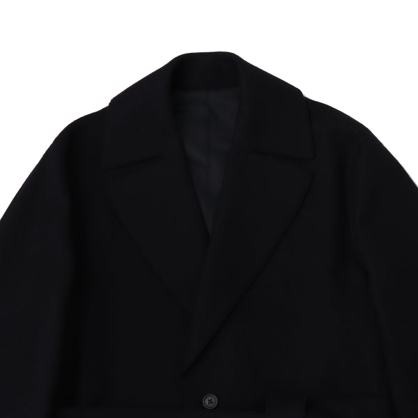 TPS_Single Belted Coat<br>Col.Black