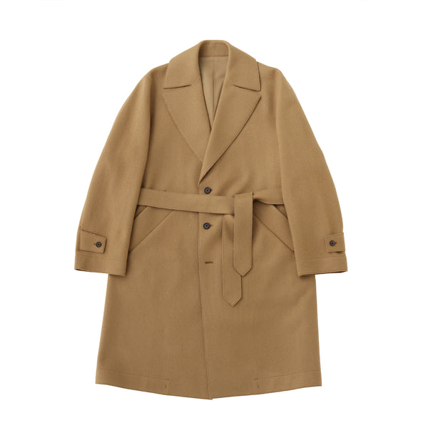 TPS_Single Belted Coat<br>Col.Camel