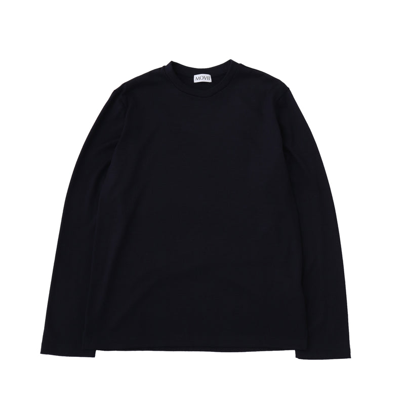 Crew neck T-shirt<br>Col.Navy