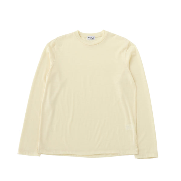 Crew neck T-shirt<br>Col.White