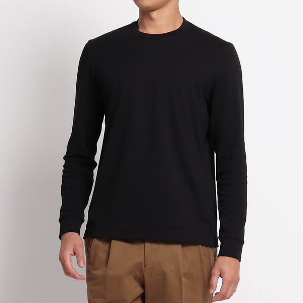 Suvin Platinum Long Sleeve T-Shirt<br>Color: Black