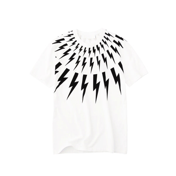 Fair Isle Thunderbolt T-Shirt