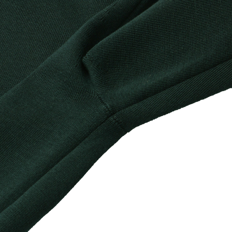 Crew neck knit<br>Green