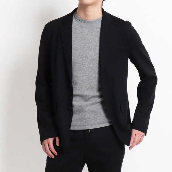 TPS_Wool Mobile Jacket <br>Col. Black