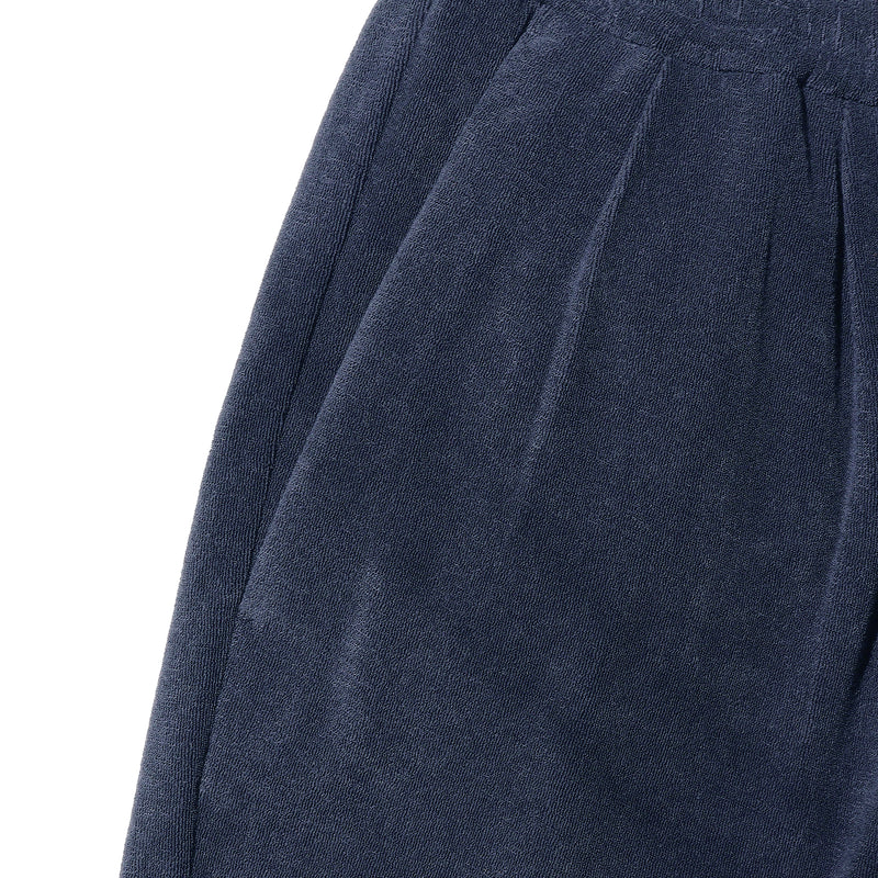 Suvin Platinum Micro Pile Shorts<br>Color: Navy