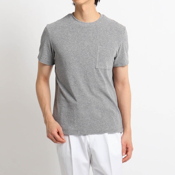 Suvin Platinum Micro Pile Pocket T-shirts<br>Color: Gray