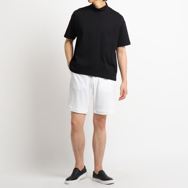 Suvin Platinum Micro Pile Shorts<br>Color: White