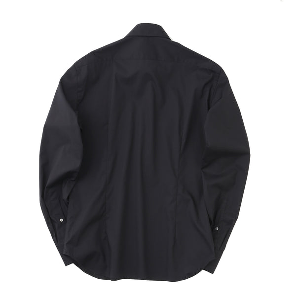 MMW限定<br>Pilot Shirts 3Functions Broadcloth Long Sleeve<br>Black
