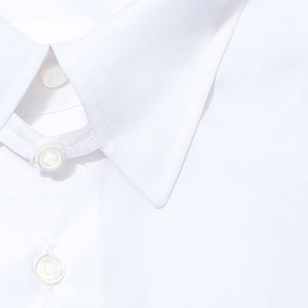【干場リクエスト】<br> Dress Shirts<br>FAUSTO (Tab collar)<br> 3Functions Broadcloth