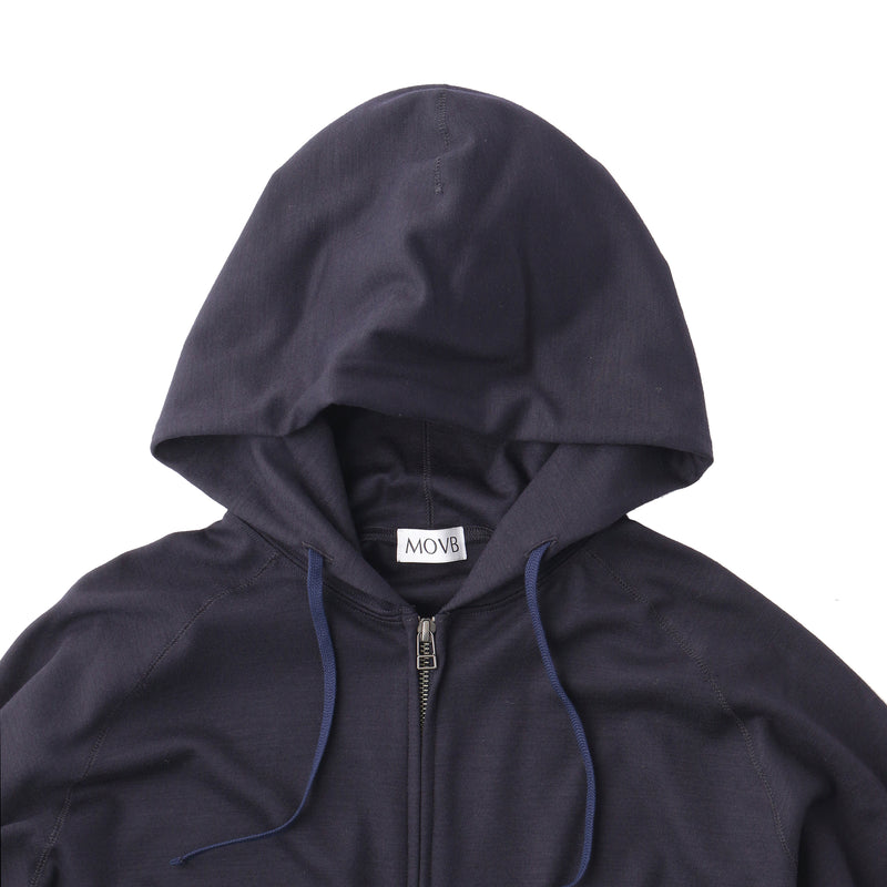 TPS_Middle Smooth Hoodie<br>Col.Navy