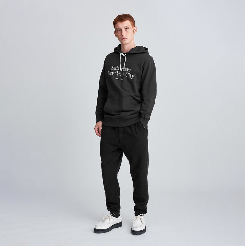 Ditch Miller Standard Embroidered Hoodie<br>Black