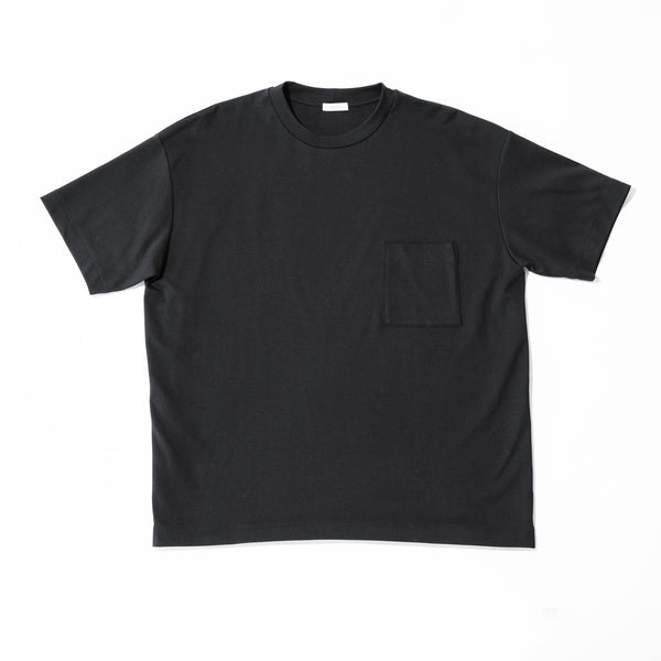 Suvin Platinum Pocket T-shirts_Big<br>Color: Black