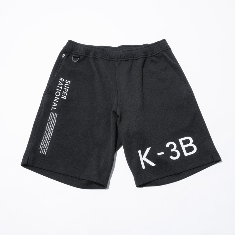 Xylitol processed mesh Fabric Graphic Shorts(100_G)