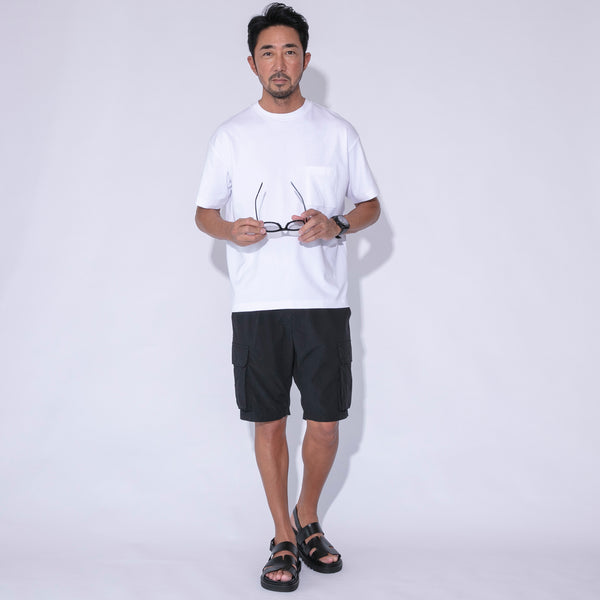 Suvin Platinum Pocket T-shirts_Big<br>Color: White