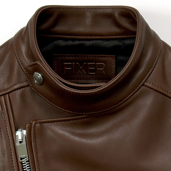 F1 DOUBLE RIDERS Cow Leather<br>COLOR:BROWN