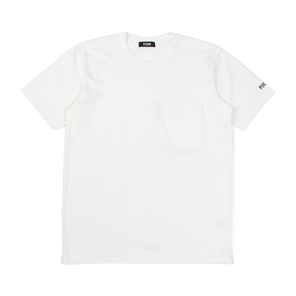 2 Print Crew Neck T-shirt White